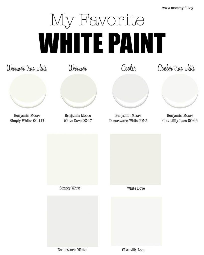 benjamin-moore-white-dove-chantilly-lace-simply-white-decorators-white