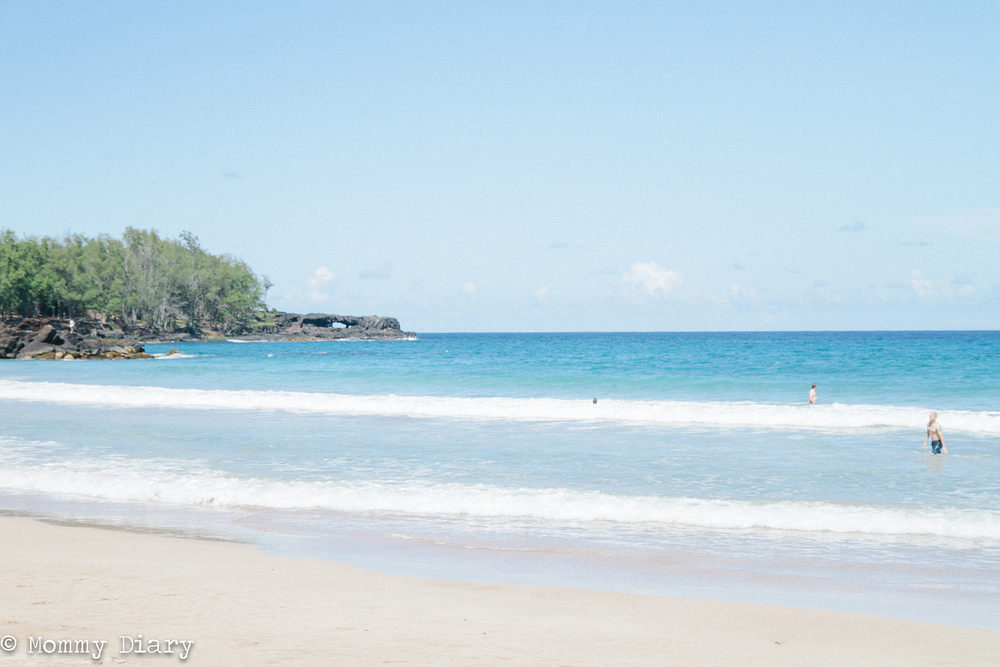 One of the many beaches you find on the road to Hana