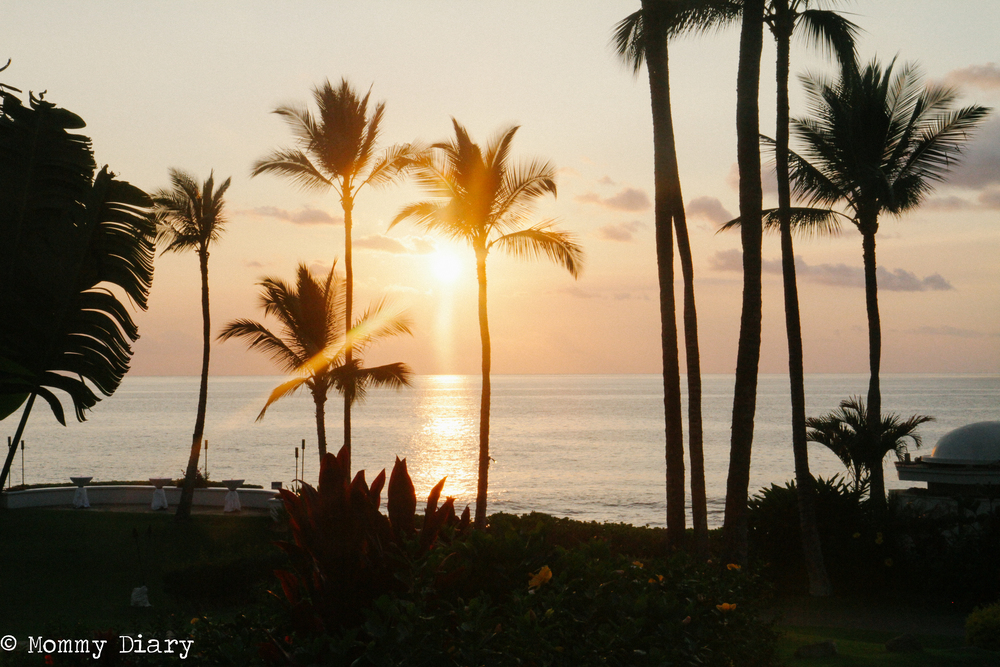 Picturesque Sunset of Maui