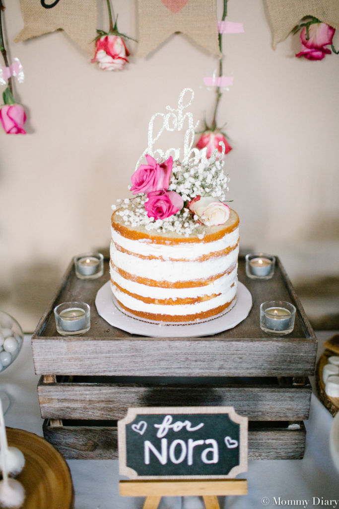 Rustic Floral Baby Shower For Baby Girl Mommy Diary
