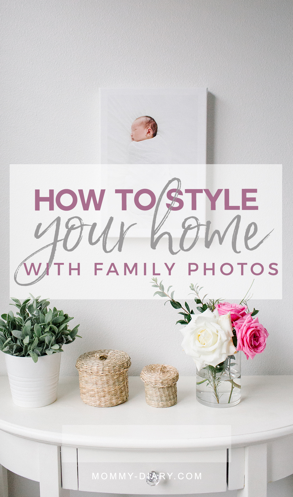 how-to-style-home-with-family-photos