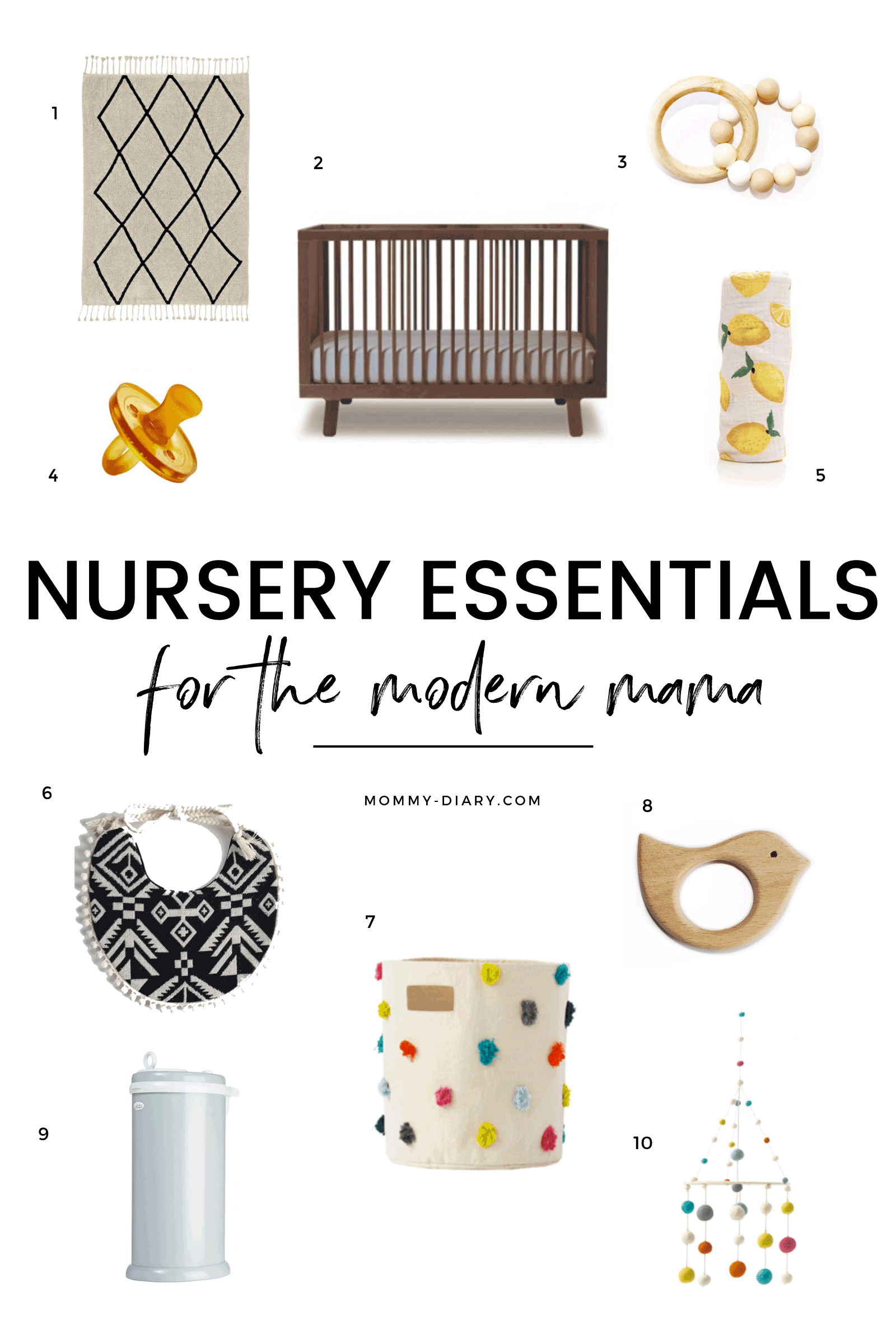 nursery-essentials-for-the-modern-mama-first-year