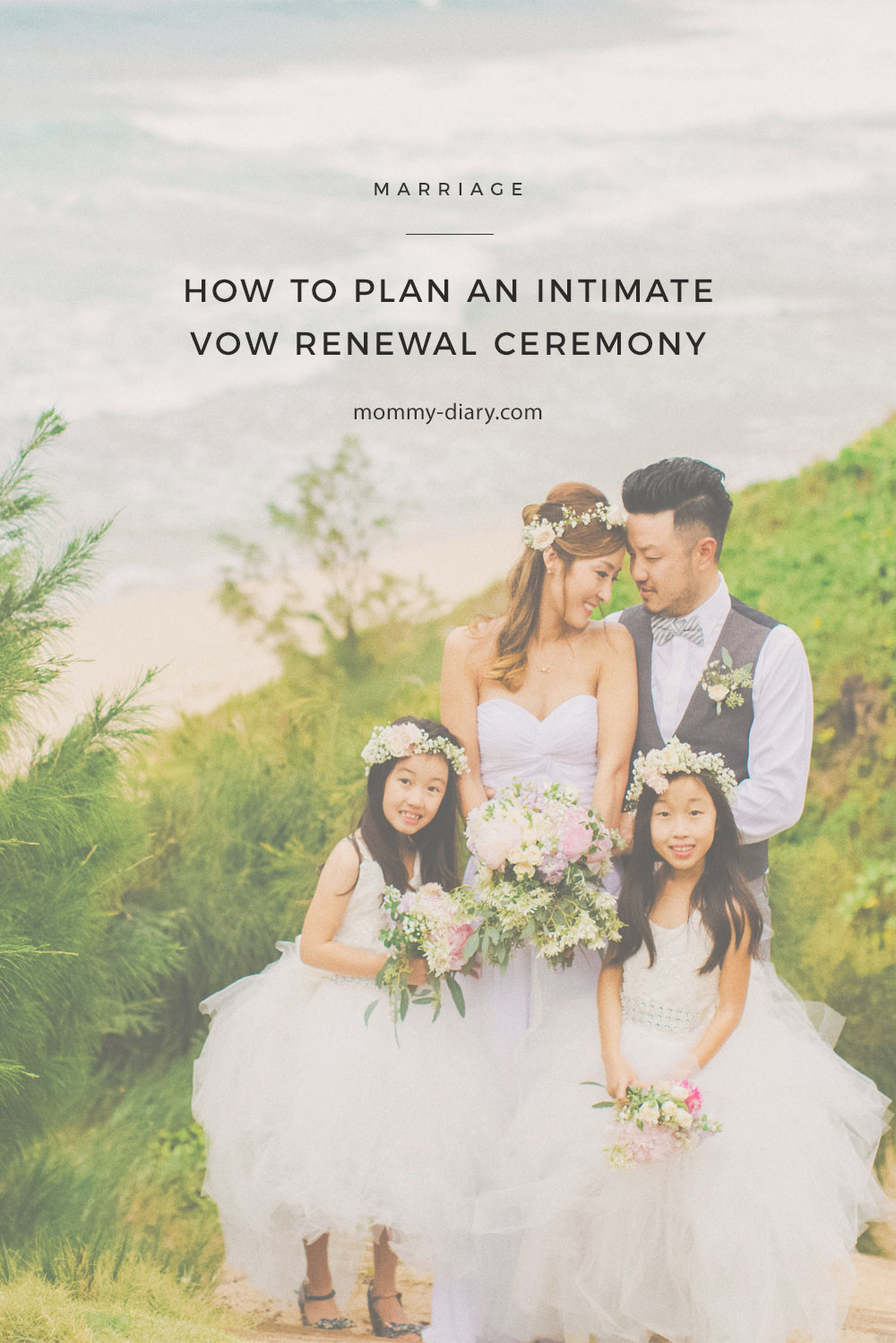 How To Plan An Intimate Vow Renewal Ceremony Mommy Diary