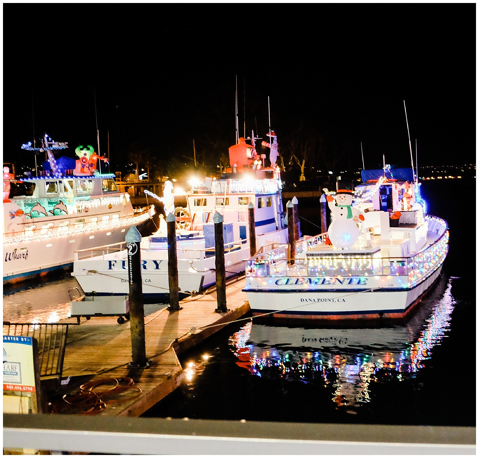 Holiday Fun At Dana Point Harbor Boat Parade Of Lights