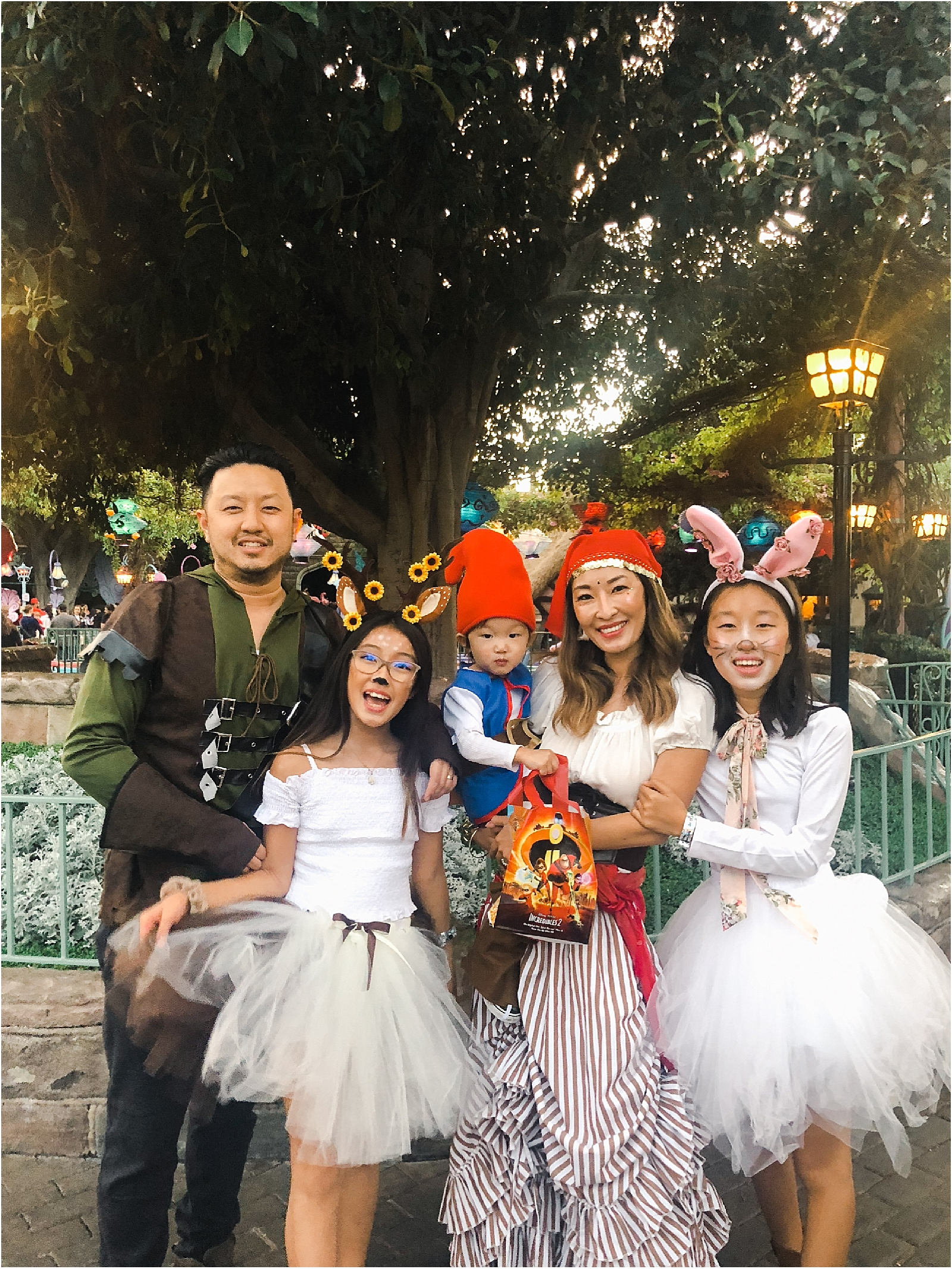 halloween-forest-family-costume