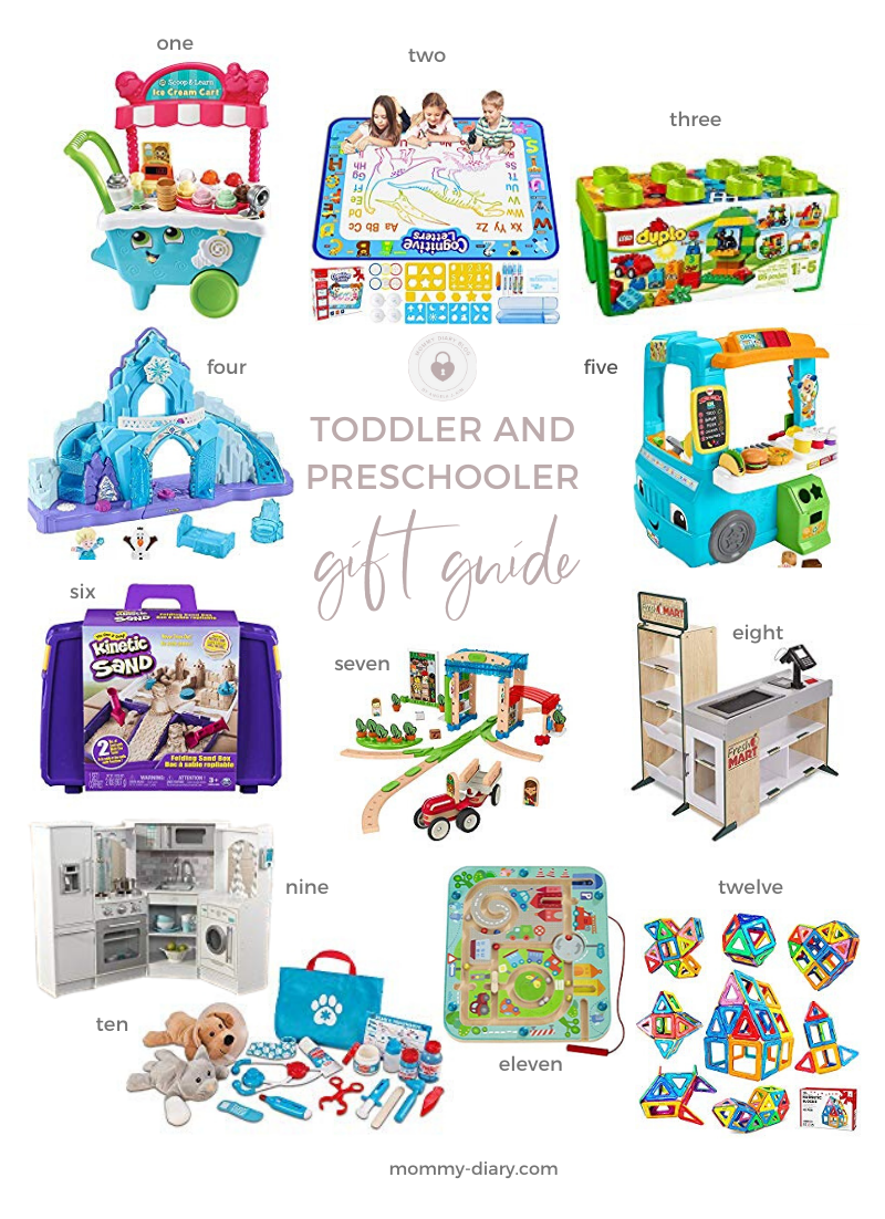 12 best gifts for toddlers and preschoolers
