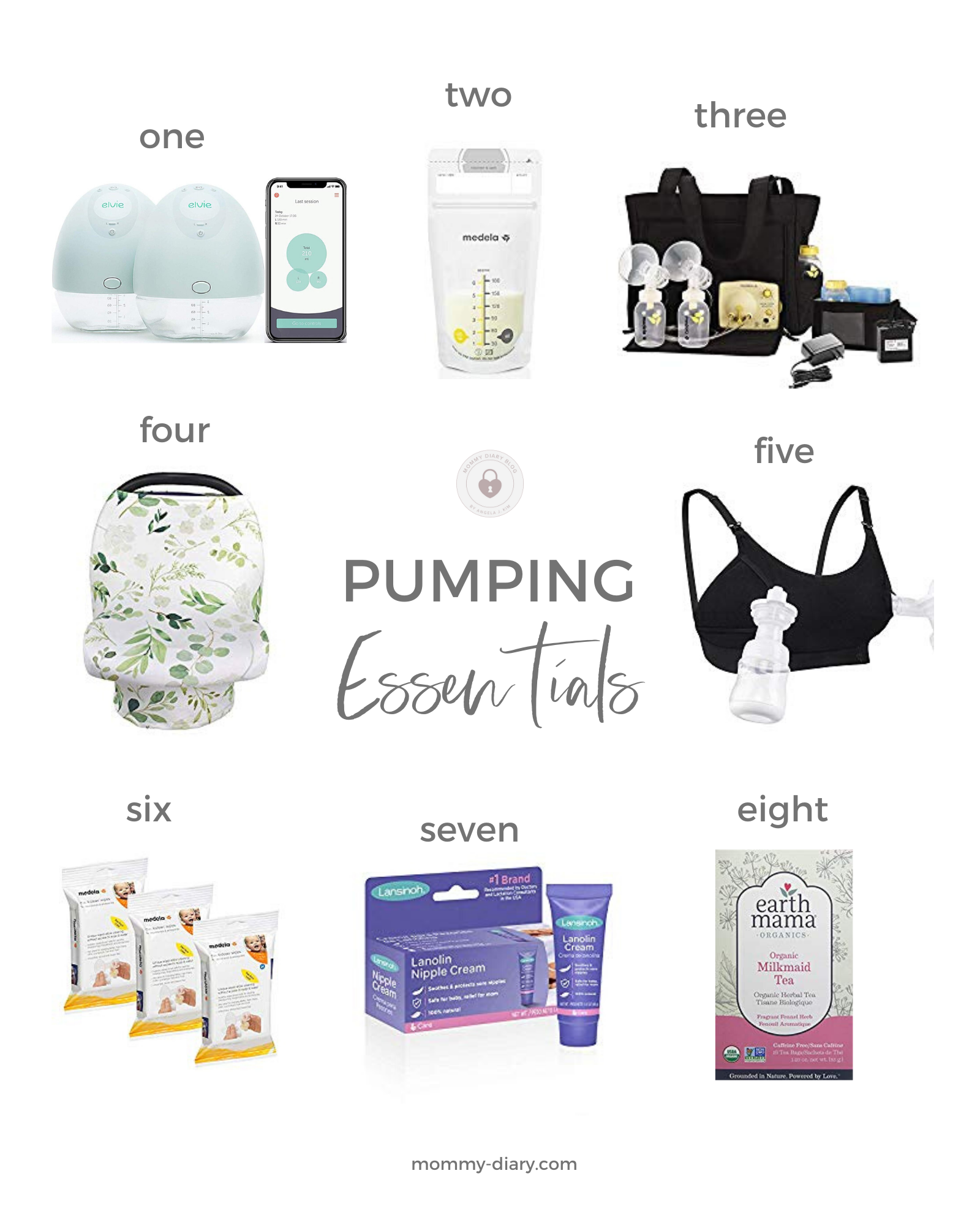 Pumping Essentials for Moms