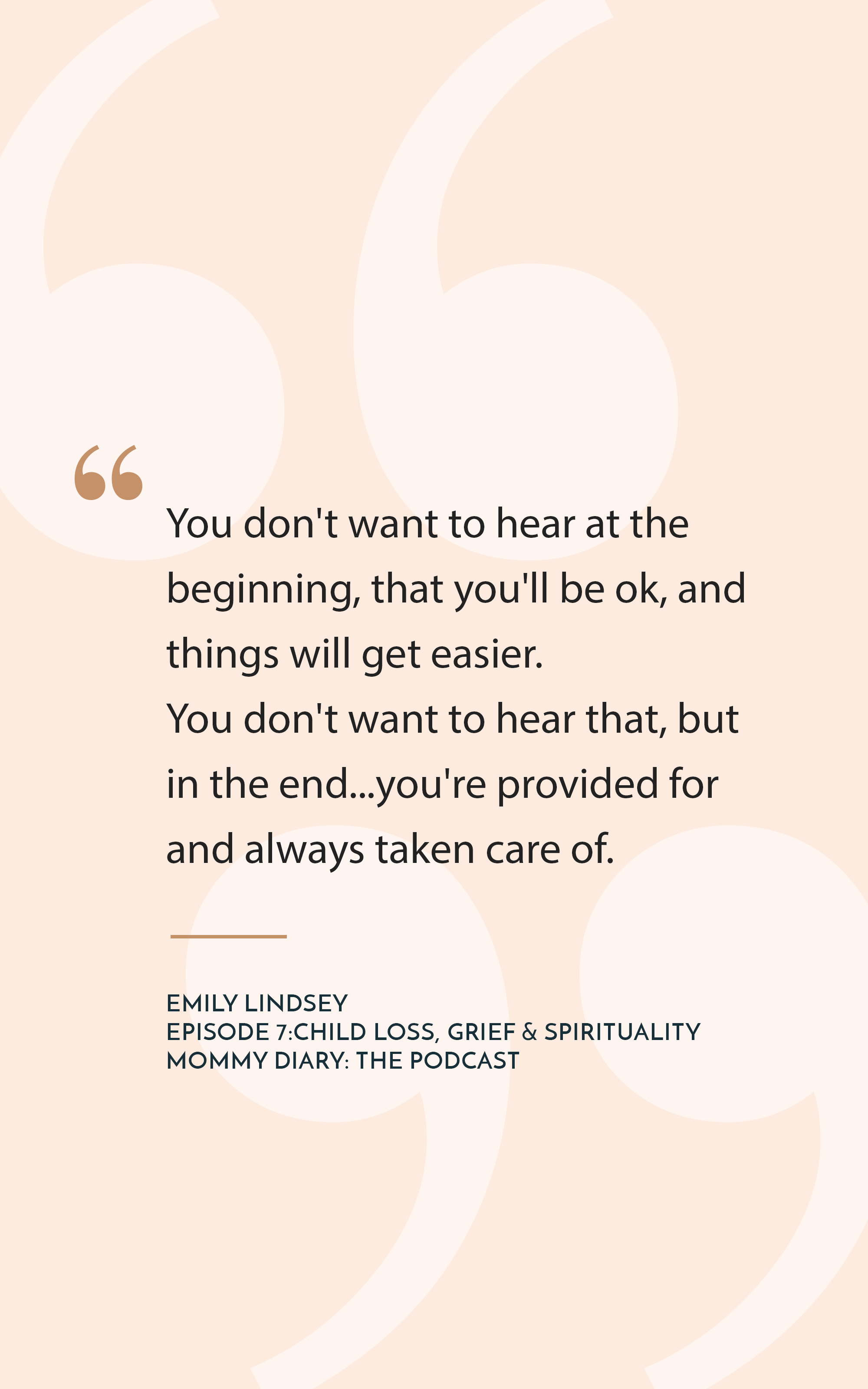 Ep 7: Child Loss, Grief, and Spirituality with Emily Lindsey