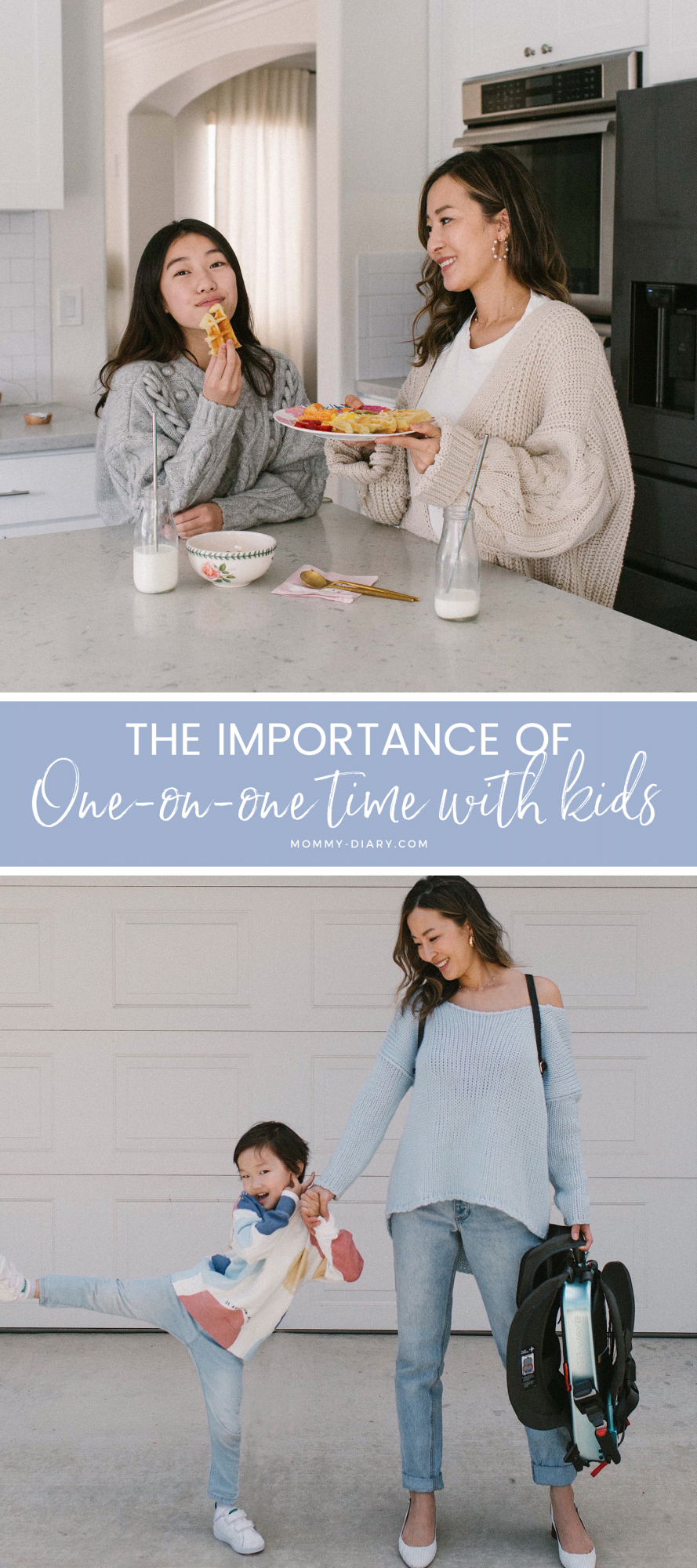 The Importance of One On One Time With Kids