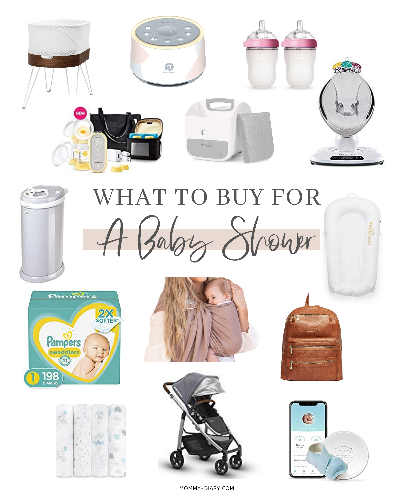 What to Buy for a Baby Shower
