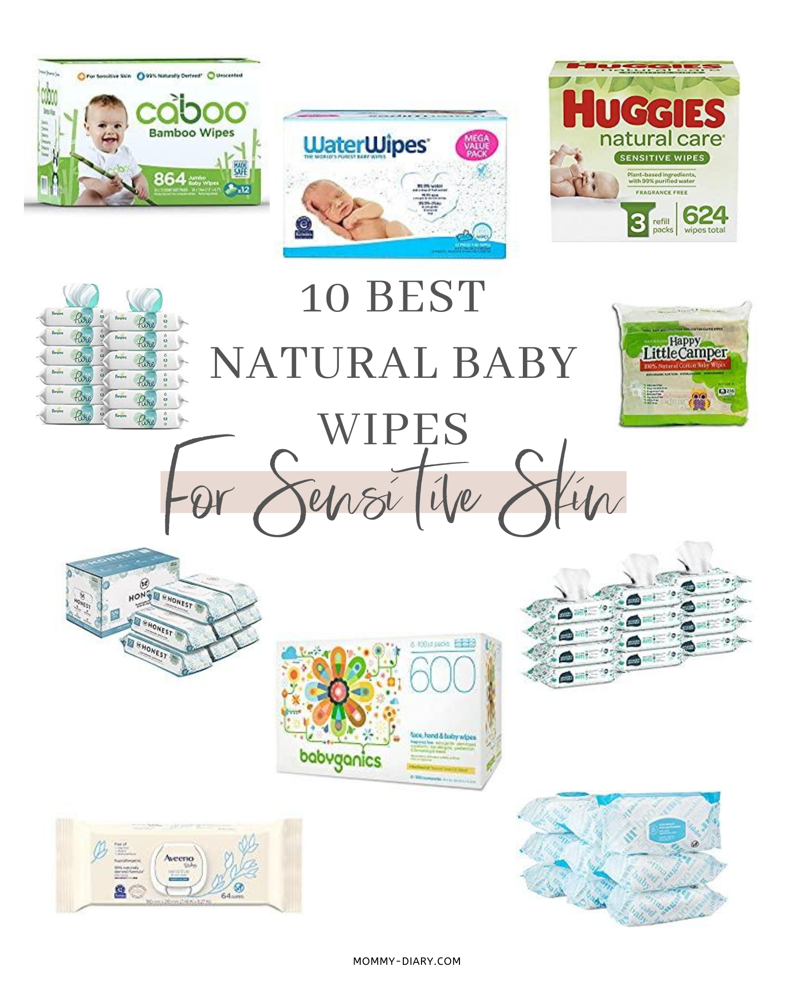 10 Best Natural Baby Wipes for Sensitive Skin