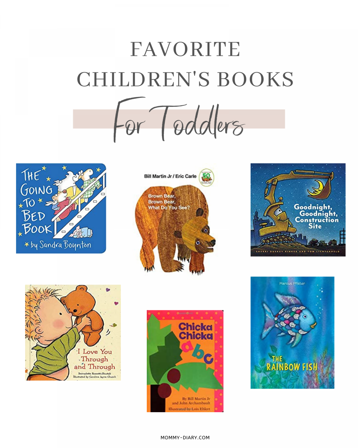 10 Favorite Childrens Books For Toddlers
