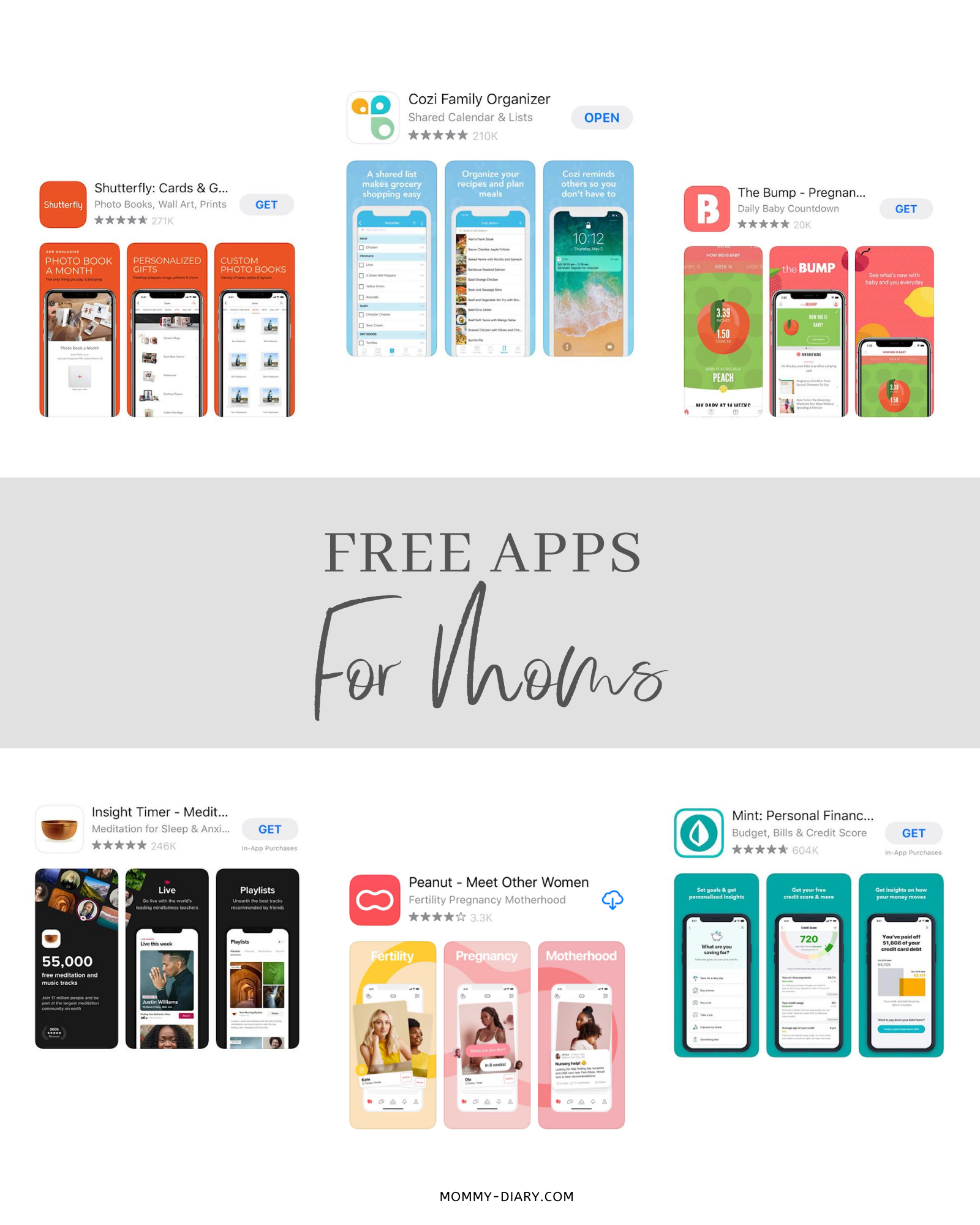 10 Free Apps For Moms