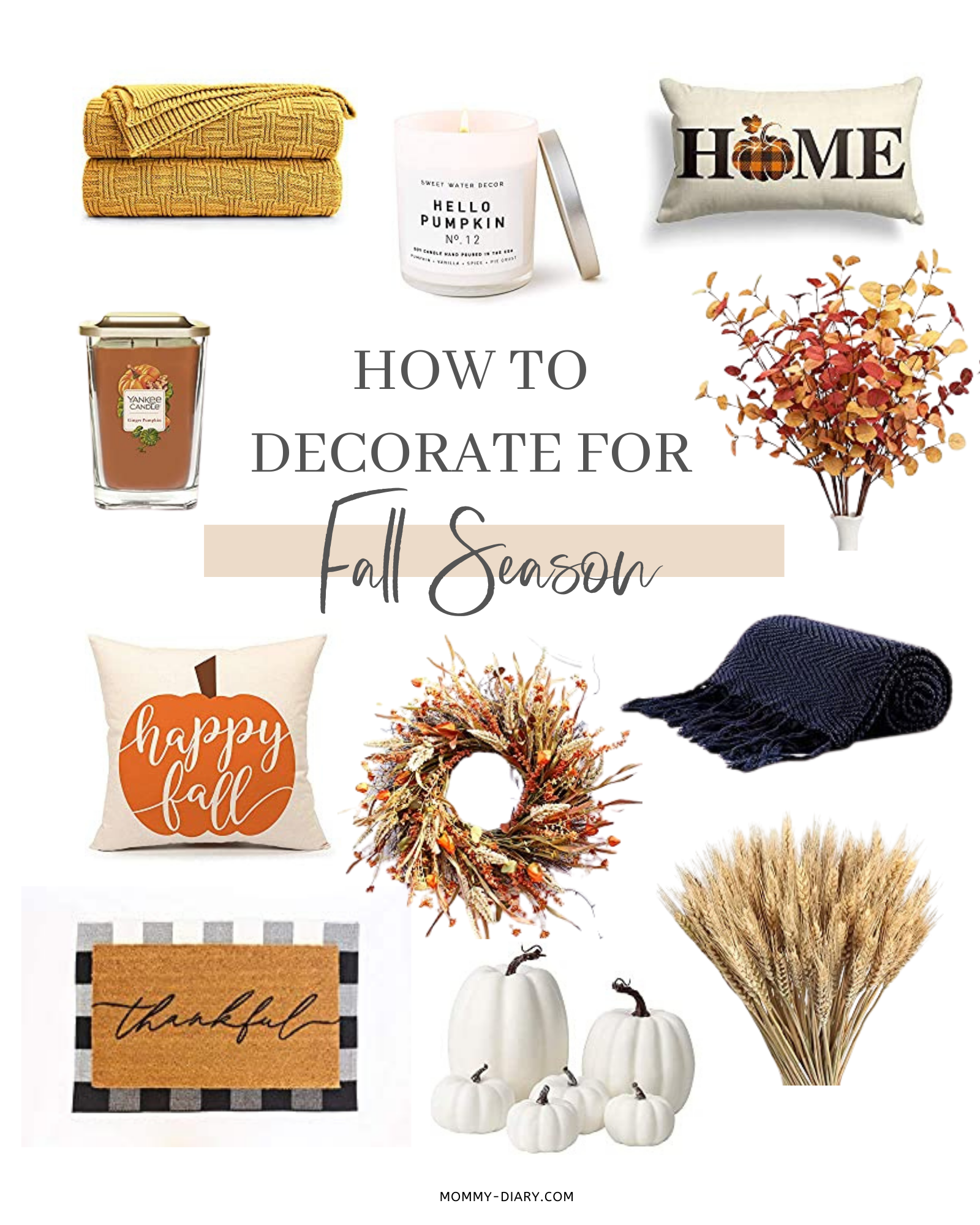 How to Decorate for Fall Season