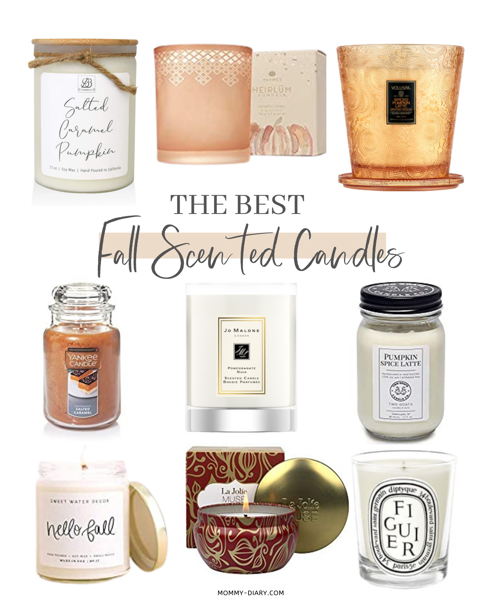 The Best Fall Scented Candles