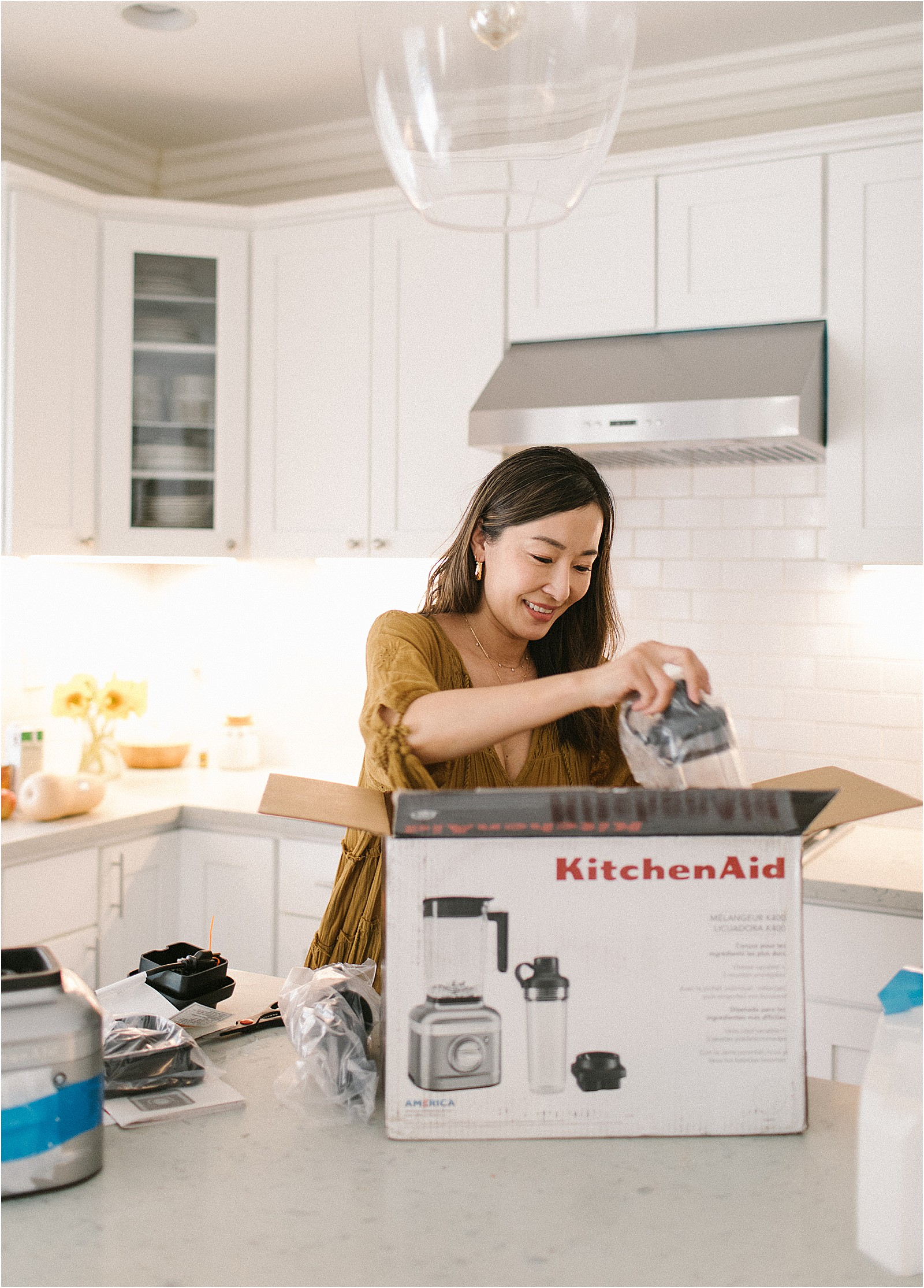 The KitchenAid K400 Blender