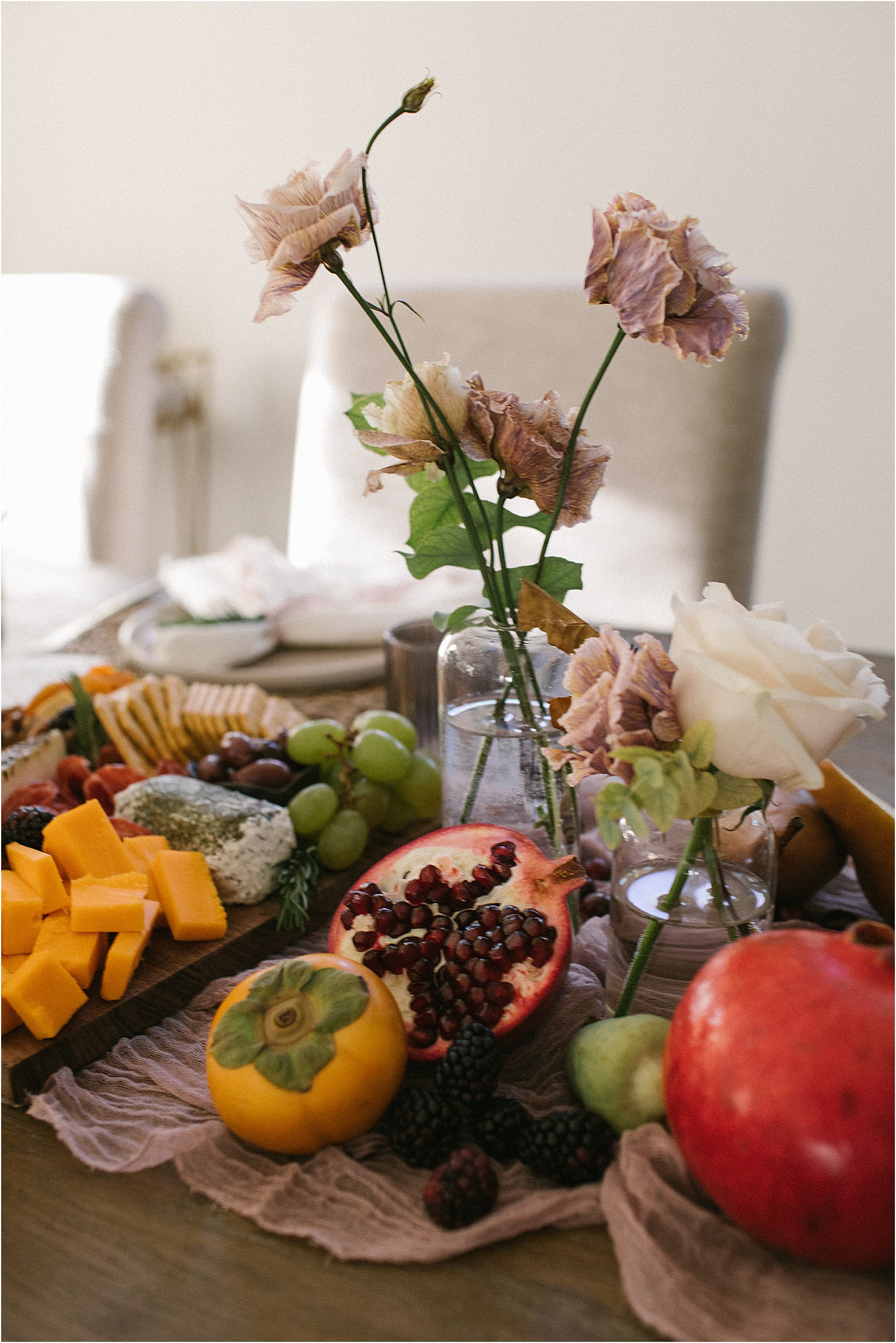 5 Tips For Edible Fall Holiday Tablescape