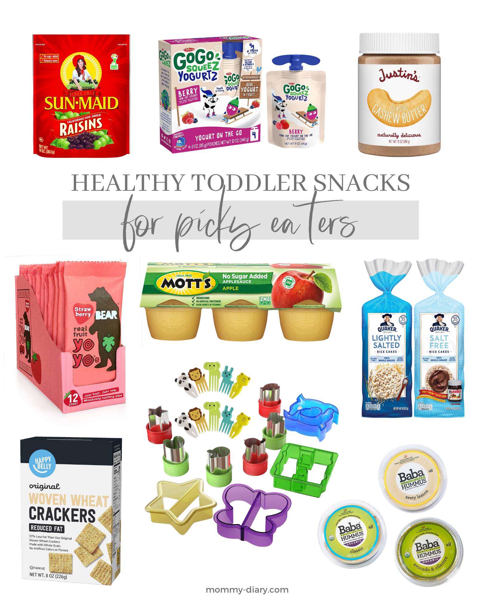 Healthy Toddler Snacks for Picky Eaters