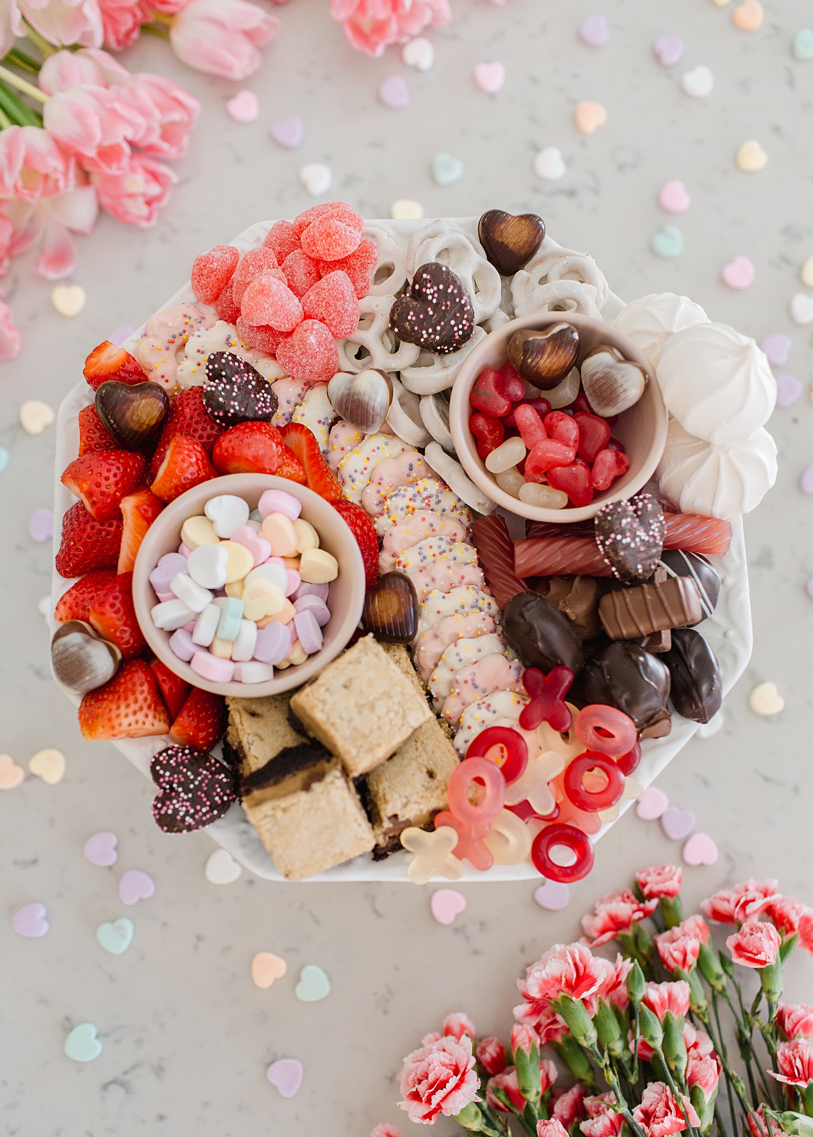 Valentines Day Sweet Charcuterie Board