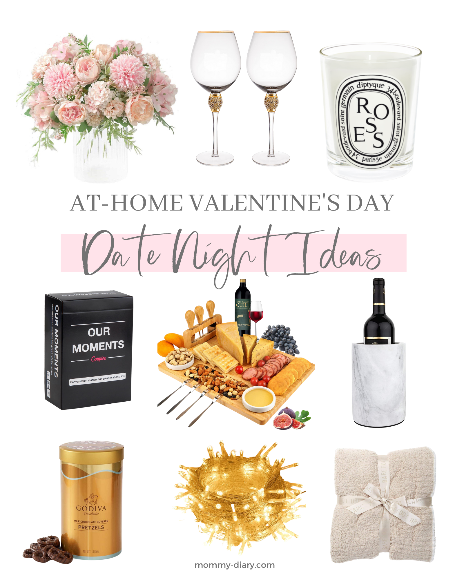 At-Home Valentine's Day Date Night Ideas