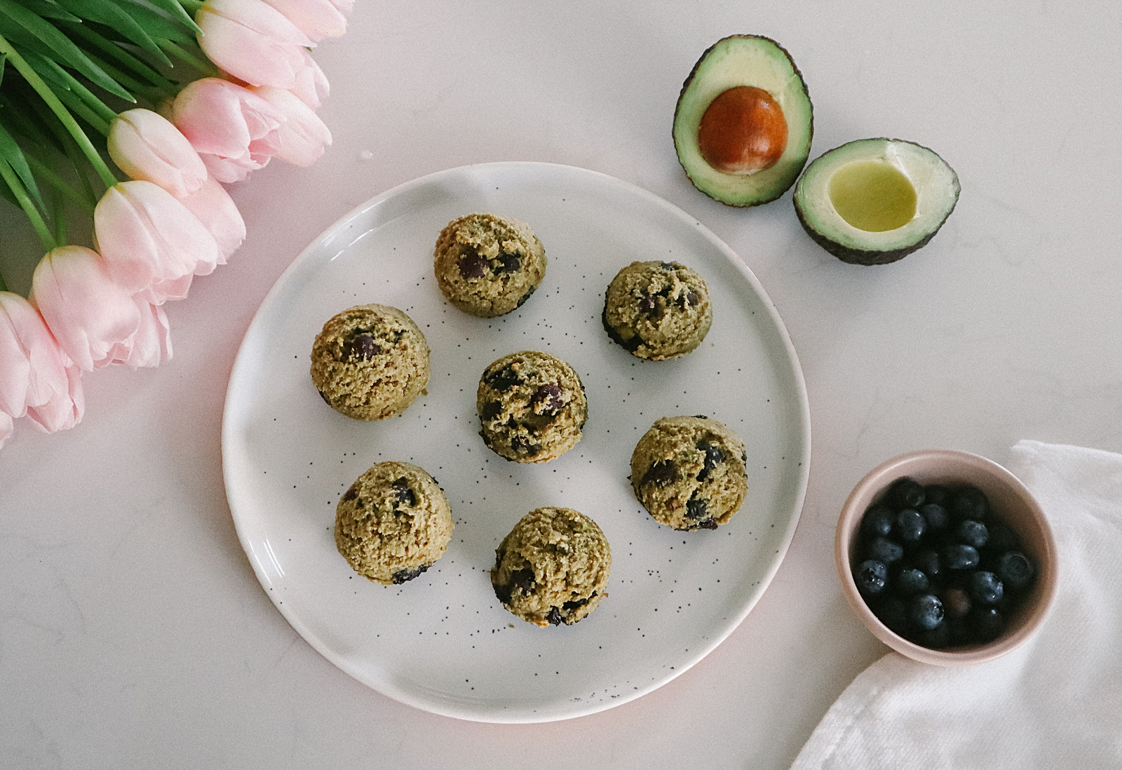 Avocado Blueberry Muffins: Easy Baby Food Recipe