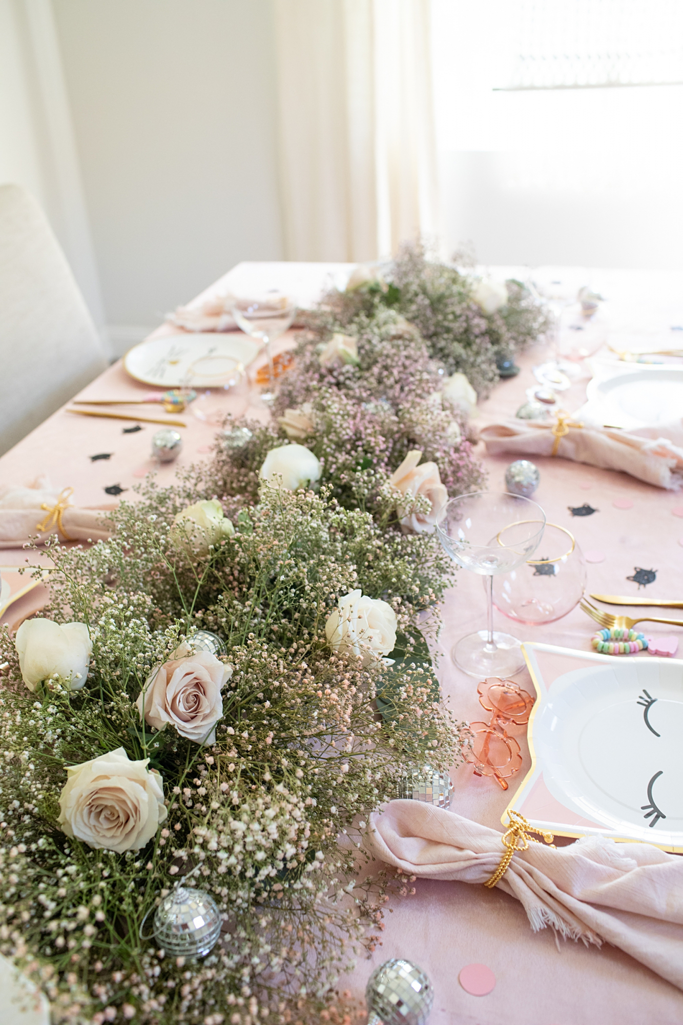 floral decoration birthday party