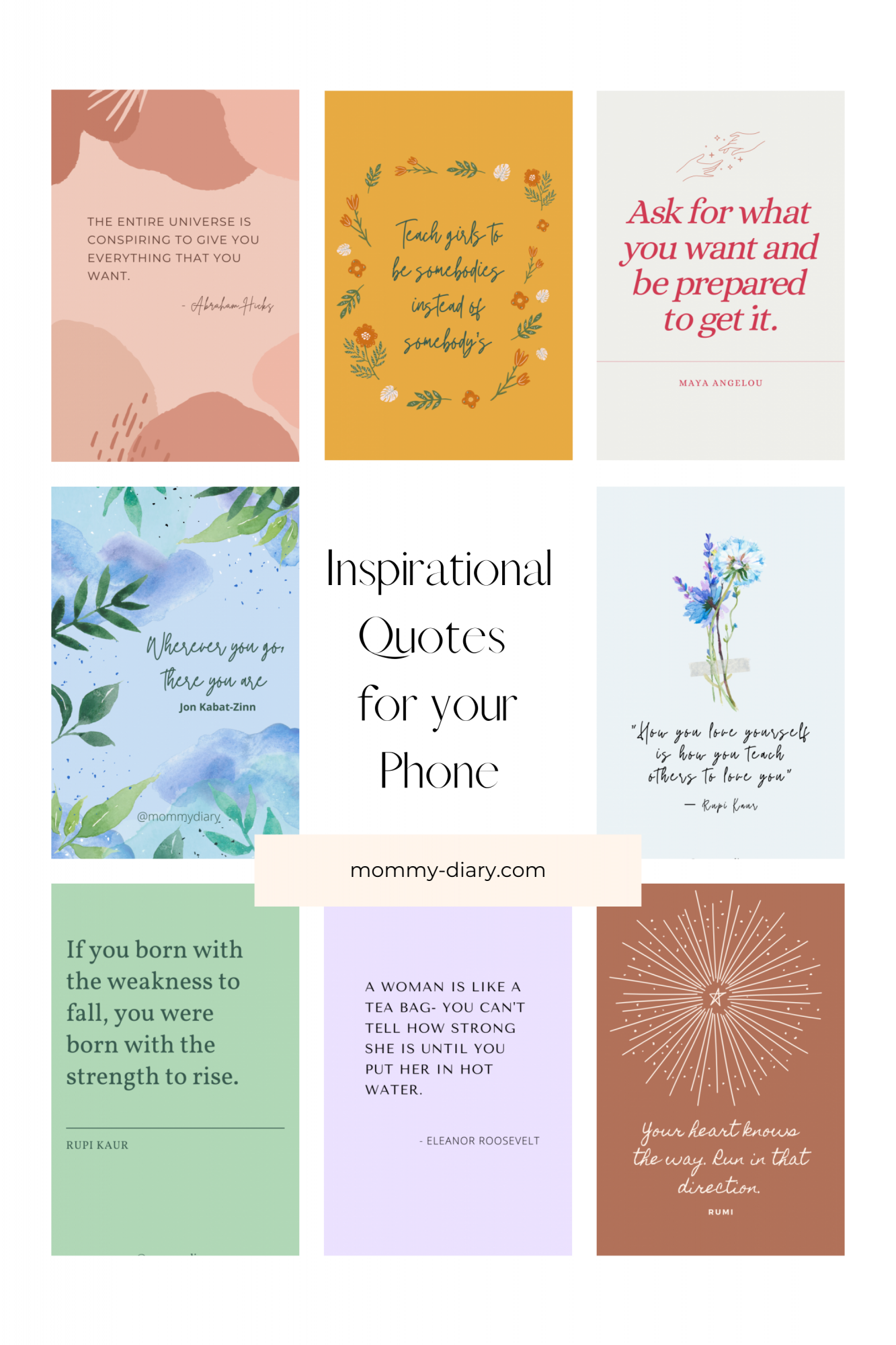 phone wallpaper quotes