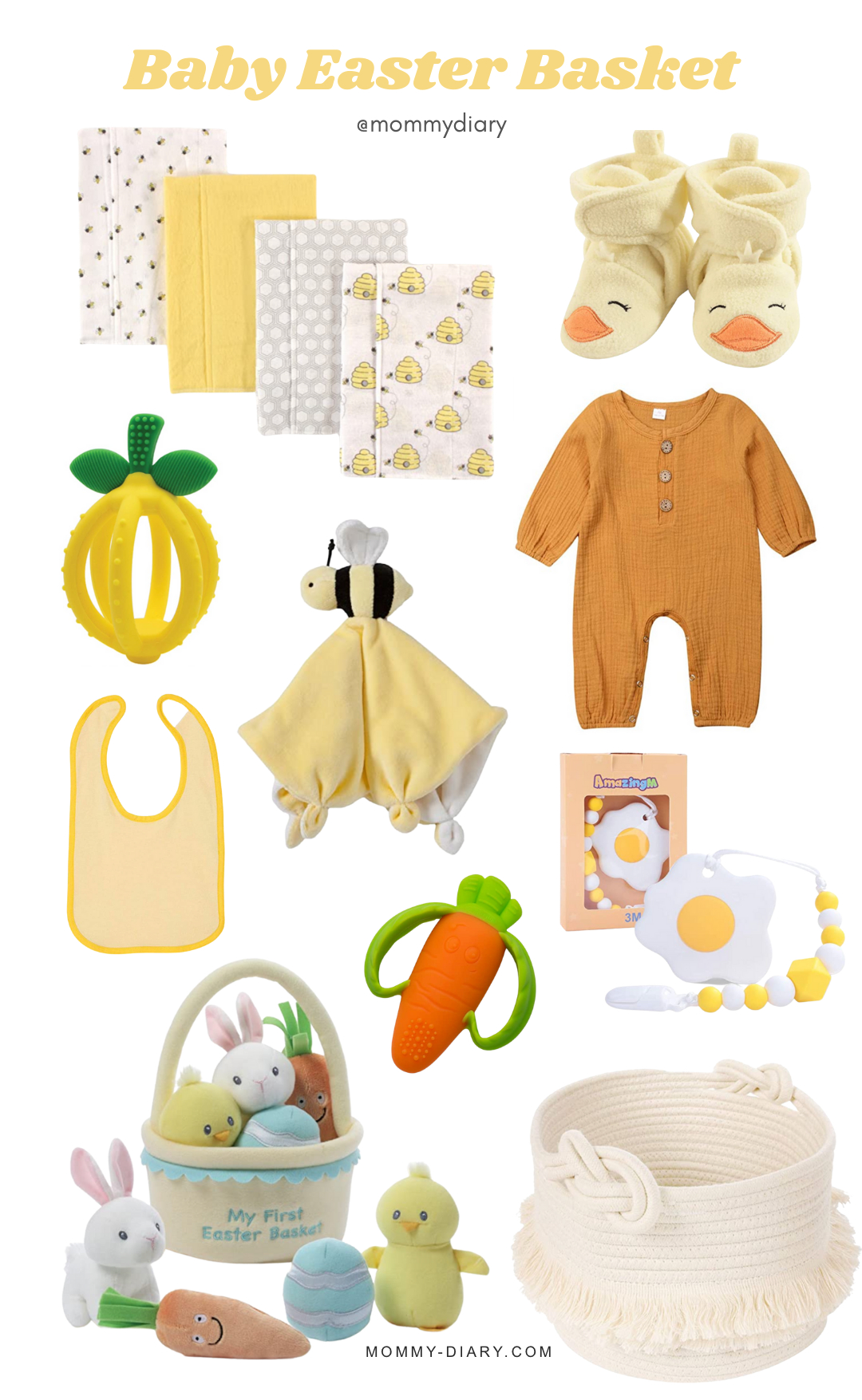 baby easter basket gifts