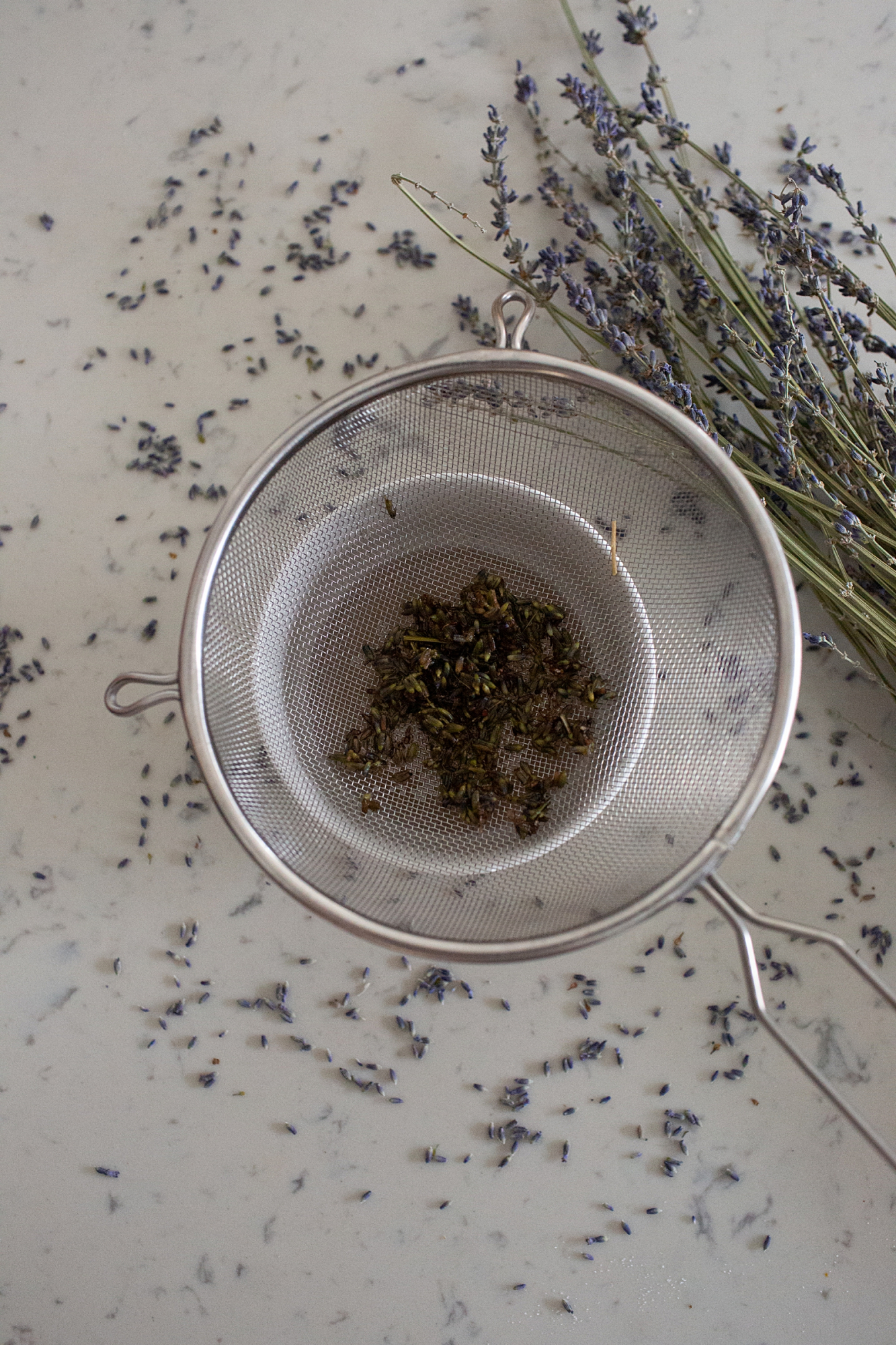 how to make lavender syrup