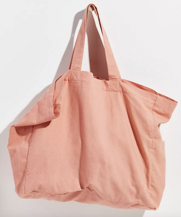 Organic Veg Dyed Solid Tote