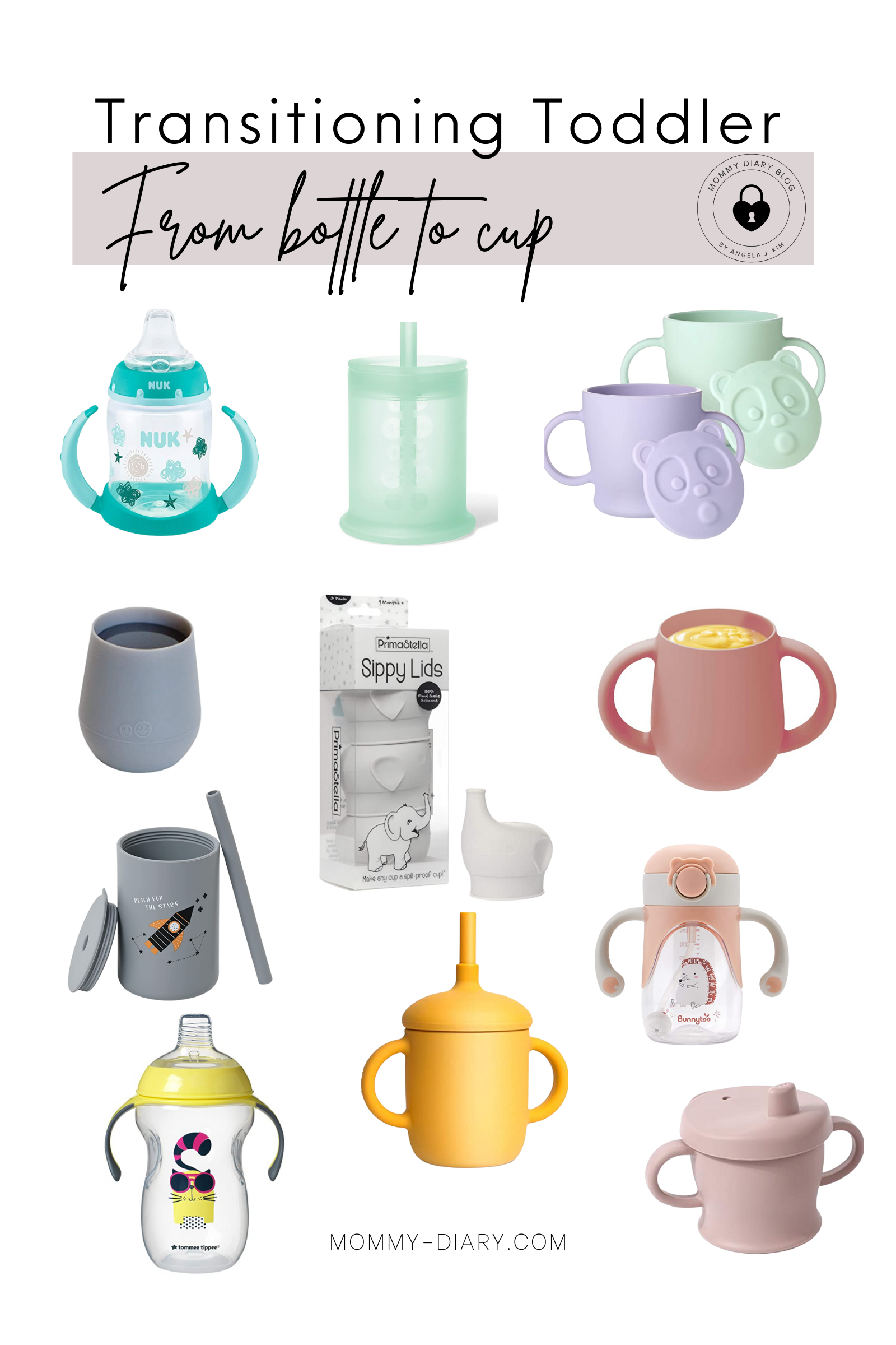 Sippy Cups for Toddlers   How To Transition a Toddler From Bottle To Cup