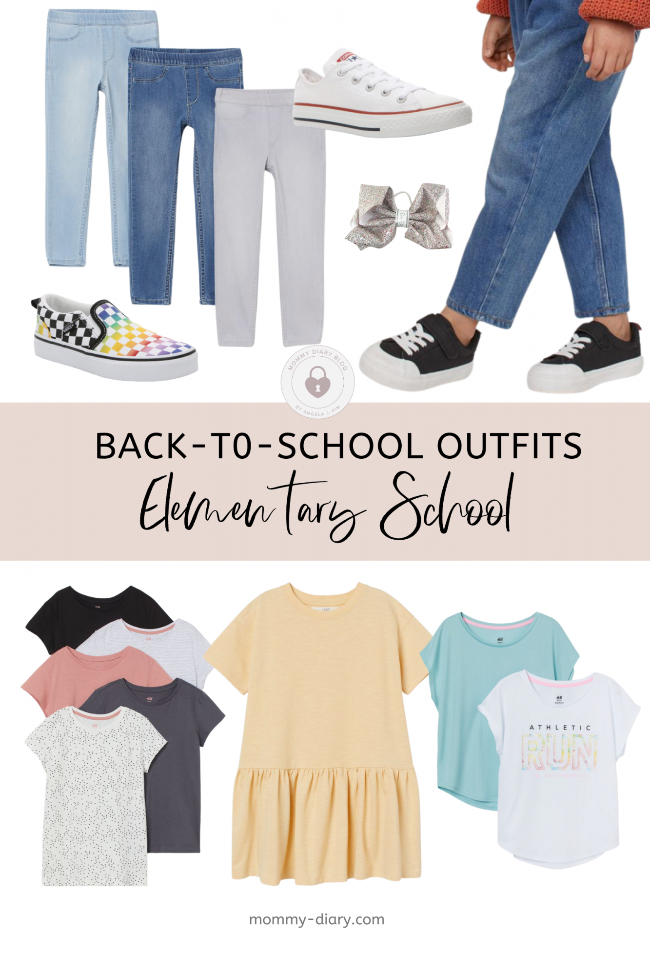 Back-to-School Elementary School Outfits
