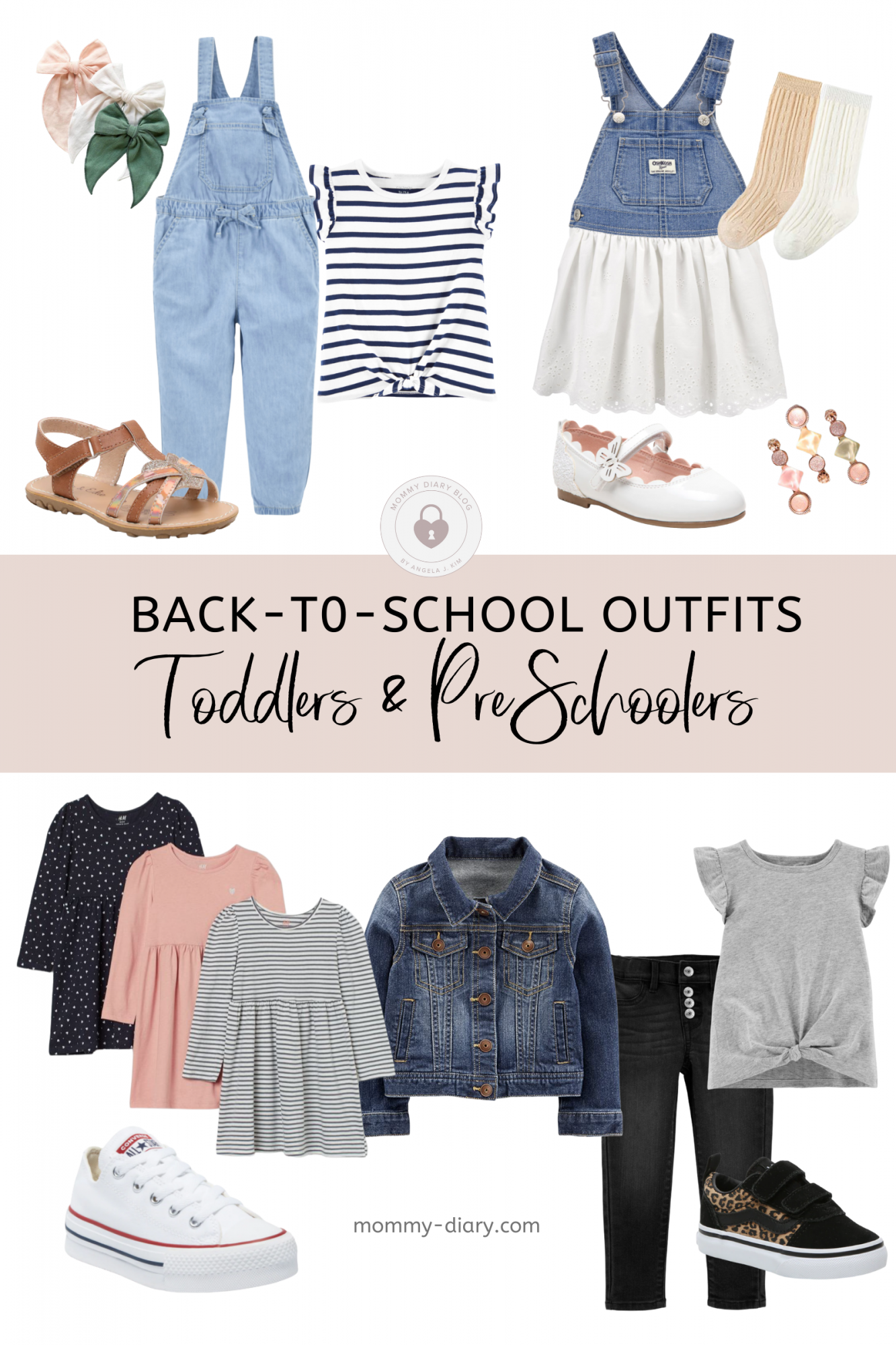 Back-to-School Toddler Girl Outfits