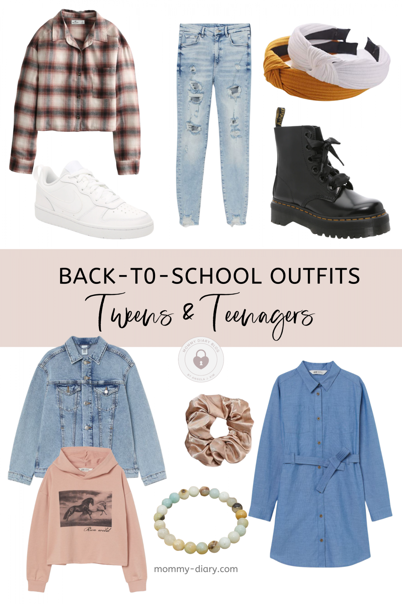Back-to-School Tween and Teen Outfits