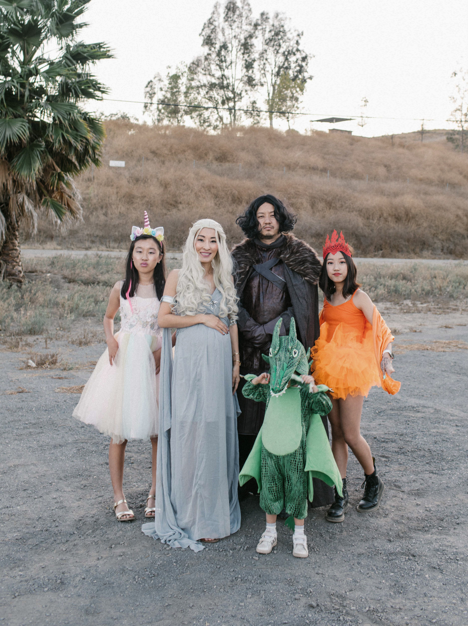 Game of Thrones costume for families